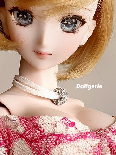 Bouquet of diamond choker (from dollsories)