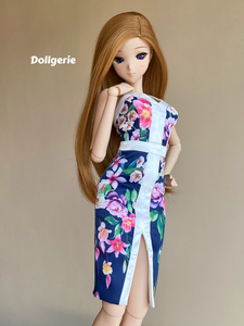 Floral Bodycon Dress for SmartDoll