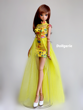 Spirea Yellow Mini QiPao for SmartDoll