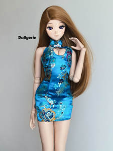 Phoenix Flower QiPao for SmartDoll