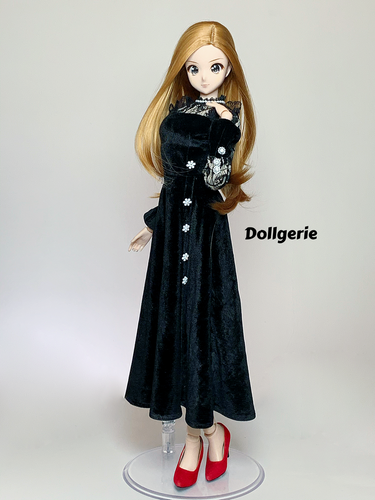 Lace See Through A-Line Dress for SmartDoll