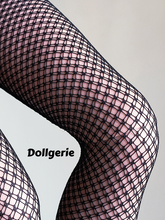 Black Thigh High Double Drawn Fishnet Stocking for SmartDoll/ DD