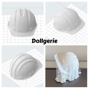 1/3 Construction Safety Helmet for SmartDoll & DD