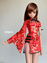 Dragon Mini One Sleeve QiPao for SmartDoll