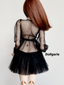 Black Sheer Tutu Dress for SmartDoll / DD3