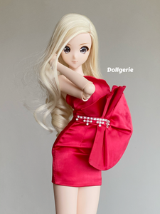 Christmas Party Mini Dress for SmartDoll