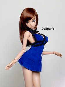 Tifa Blue Mini Dress for SmartDoll