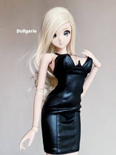 "Deep-V Black Clubwear made for Smartdoll ""L"" Bust"