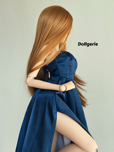 Royal Blue Semi-Sweetheart A-line Gown for SmartDoll and DD (fits S, M, L bust)