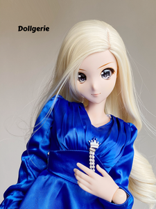Royal Blue Cocktail Dress for SmartDoll