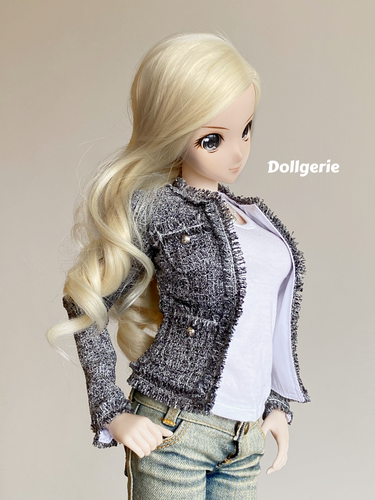 Chanel-inspired Tweet Jacket for SmartDoll