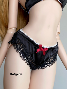 Dollgerie 1st Black Bra Set for SmartDoll