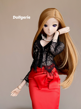Signature Black Lace Shirt for SmartDoll
