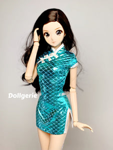 Turquoise Qipao for SmartDoll /DD