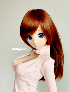 Pink Long Sleeve Heart Cutout Top for SmartDoll