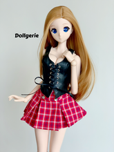 Mini Pleated Red Skirt for SmartDoll & DD
