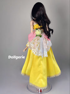 [Special Price] Yellow Tulip Wedding Dress for SmartDoll