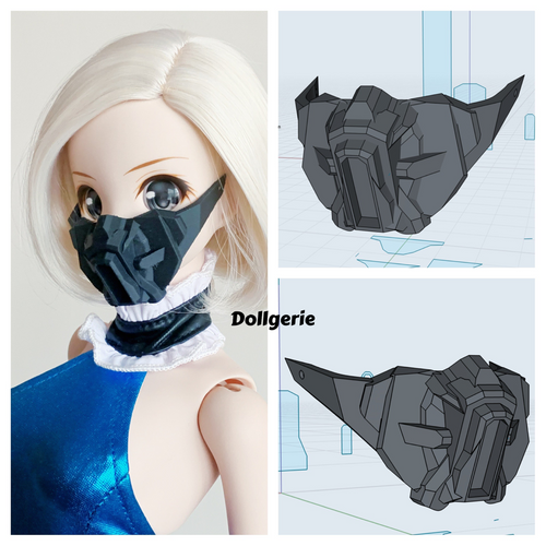 Dollgerie Mecha Mask for SmartDoll and DD