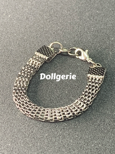 Black Silver Metal Choker for SmartDoll / DD (from Dollsories)