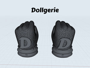 Dollgerie D-Glove (Digital Version, STL Format, for 3D Printing Only)