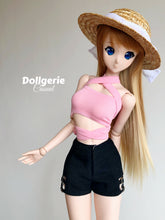 Black Short Pant with white inner lining, designed for SmartDoll / DDdy / SD13