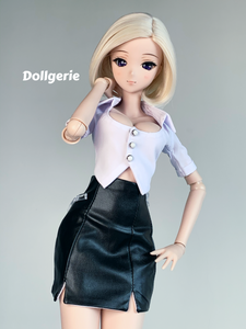 Bartender White Shirt for SmartDoll