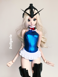 DOA Marie Rose Cyber Blue Bodysuit for SmartDoll