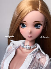 Double-Ring Crystal Choker (from Dollsories)