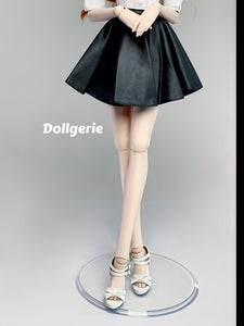 A-line Matt Skater Pleated Mini Skirt for SmartDoll / DD