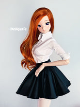 3/4 Sleeve Slim Fit White Shirt for SmartDoll / DD