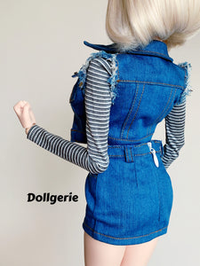 Android-18-style Costume for SmartDoll /DD3