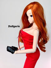 Bright Red Strapless Wide Leg Jumpsuit for SmartDoll / DD