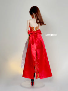 Red Sweetheart QiPao for SmartDoll and DD3