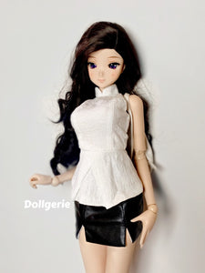 Embroidered Oriental Neck Sleeveless Top for SmartDoll / DD