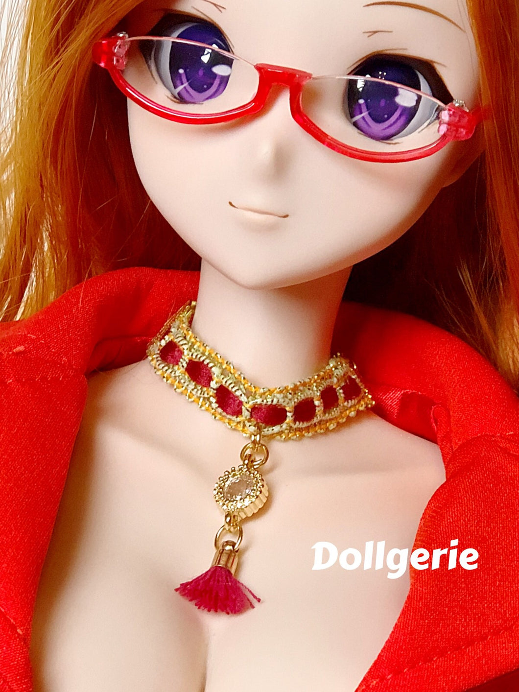 Red Fire Choker for SmartDoll/ DD doll