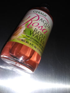 AGUA de Rosa  Rose Water