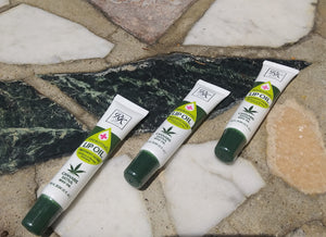 Cannabis sativa lip oil gel
