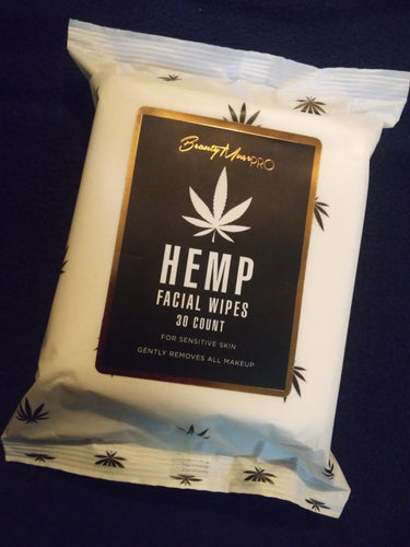 HEMP facial wipes
