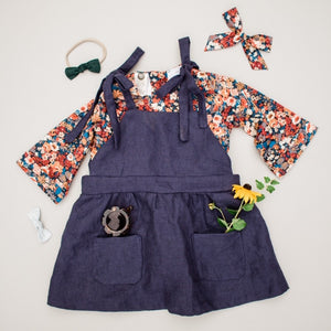 Lottie Apron Dress