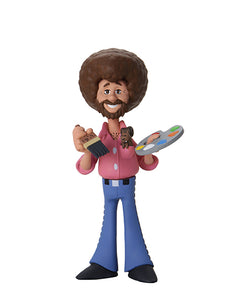 "Bob Ross 6"" Figure Toony Classics Bob Ross with Peapod"
