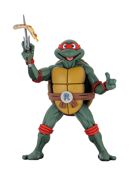 TMNT - (Cartoon) ¼ Scale Action Fig Super Size Raphael