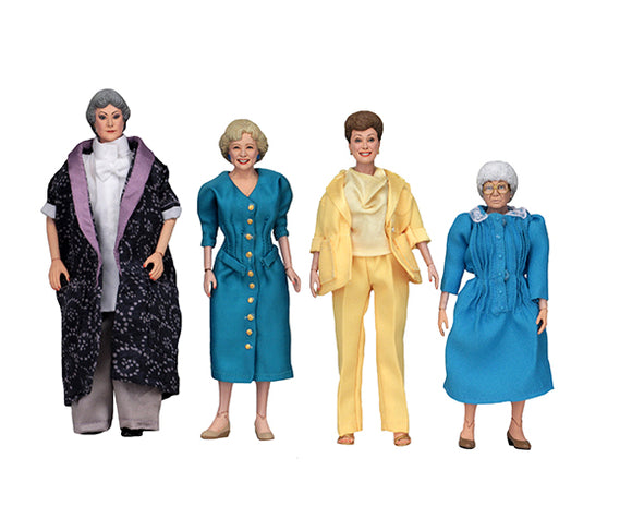 The Golden Girls – 8″ Clothed Action Figures – FULL SET