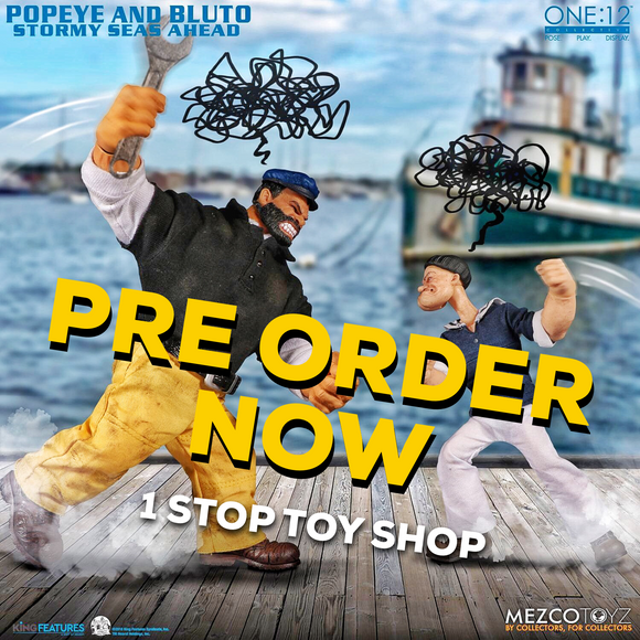 One:12 Collective - Popeye & Bluto: Stormy Seas Ahead Deluxe  Set