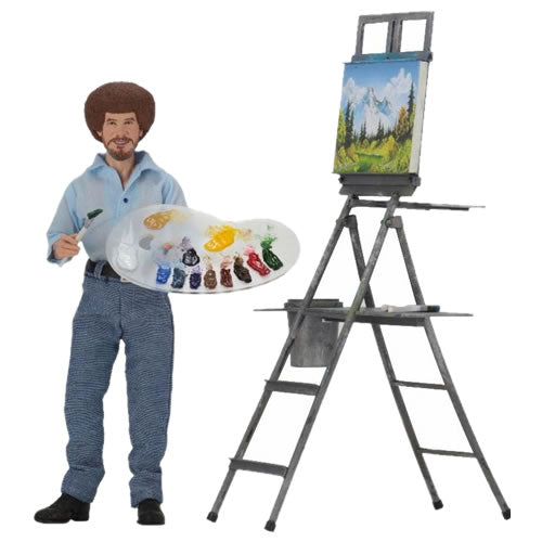 Retro Clothed - Bob Ross - The Joy of Painting