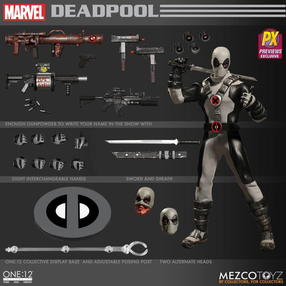 One:12 Collective - Deadpool (X-Force) PX