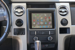 Ford F150 iPad dash kit install