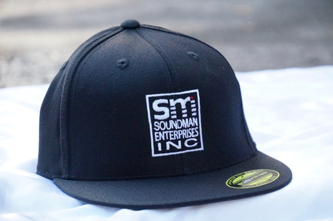 Soundman Flat Bill Flexfit Hat