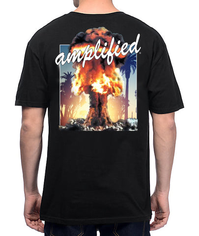 PRE-ORDER - LIMITED Front and Rear logo Amplified Explosion T-Shirt
