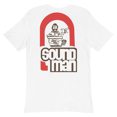 Soundman BASS VAN 100% Cotton Jersey Pocket T-Shirt
