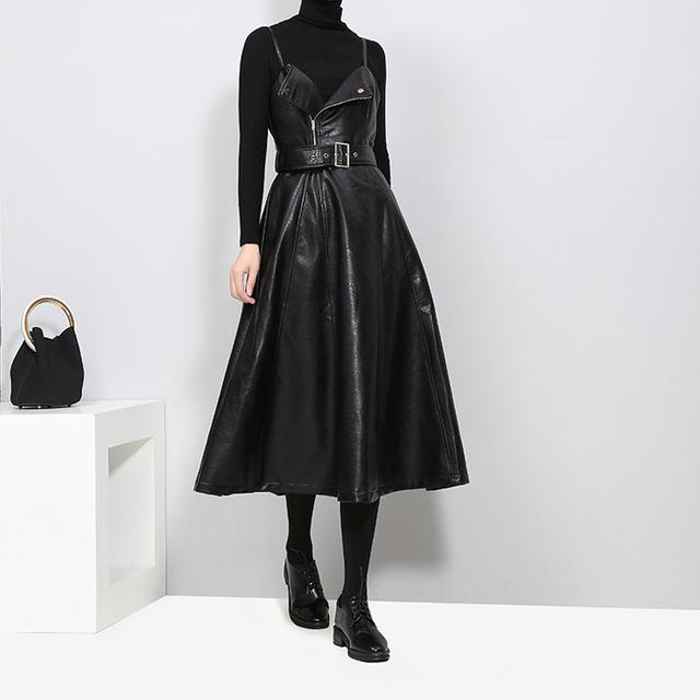 Musset Vegan Leather Dress